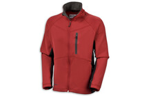 Columbia Men's Blue Point Fleece Jacket chili